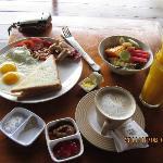 breakfast set A