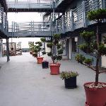 this is the courtyard