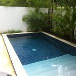 Plunge pool of No.14