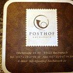 Der Posthof in Bacharach