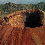 "Vesuvius - the ""new"" crater"