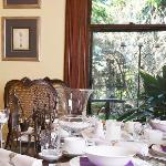 Our glorious Dining Room where you'll enjoy all the delights from our Seasonal Breakfast Bar.