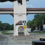 Entrance landmark!