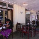 Foodland - indoor area of restaurnt