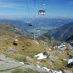My walk from Kitzsteinhorn back down to Kaprun with Zell am See in background