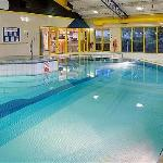 Pool Area in the Spirit Health Club