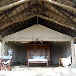 """Camping"" in The Aruba Lodge, Amboseli"