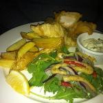 Fish n chips @Indigo