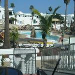 View of pool from bar Sol 2