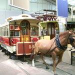 Horse Tram in the Museum