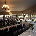 StoneBridge Venue set up for wedding