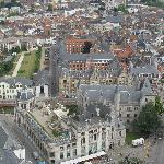 Geeraard de Duivelsteen (The Castle of Gerald the Devil): View from the Cathedral