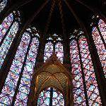 Stained glass windows, Sainte Chapelle
