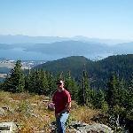 Overlooking Sandpoint area