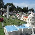 Lego model of Washington DC