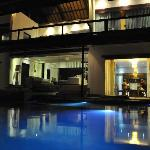 evenings at the villa