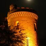 Dalhouses tårn by night