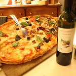 The Seafood Pizza