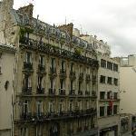 la rue LaFayette -vue de la chambre