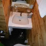 WC/Dusche von Zimmer Nr. 4
