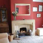 Lounge, perfect on cool autumn days with the log fire lit