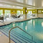 After a long day, spend some time in our indoor pool and whirlpool