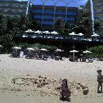 Curtindo praia e piscina do Hotel