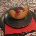 melon and prosciutto appetizer