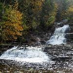 Kent Falls in Autumn