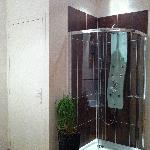 Spa shower and private toilet