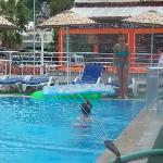 pool a bit cold