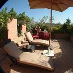 Suite rooftop terrace