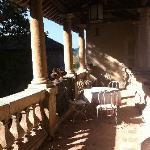 Terrasse - cour intérieure