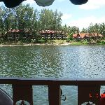 The rear of the Dusit from the Lagoon shuttle