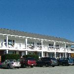 Main motel building