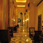 The hotel inside