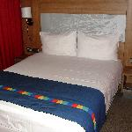 Die Betten sind recht komfortabel