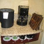 Good supply of coffee