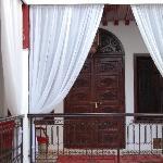 la porta della suite