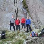 The Team at Idwal Slabs
