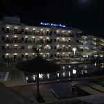 Edificio de noche