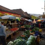Hinterhof Markt am Marktplatz