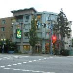 Hotel from the street