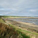 John Muir Way between Dunbar and Cockburnspath