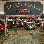 A tiny section of the car museum