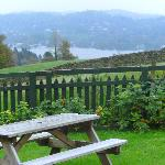 The View of Windermere from the garden