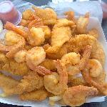 Large Shrimp and Fish basket