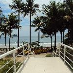 Do Hotel para a Praia