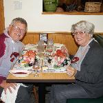 Lobster dinner on 50th anniversary