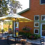 Restaurant and wine tasting room